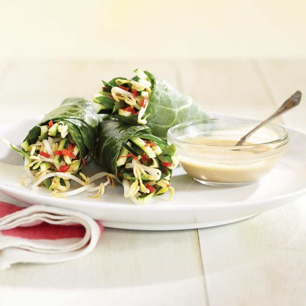Thai kevätrullia