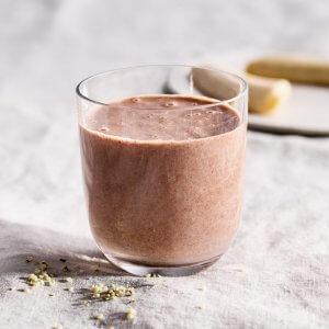 Minttu-suklaa smoothie Vitamixilla valmistettuna on ihanan silkkinen!