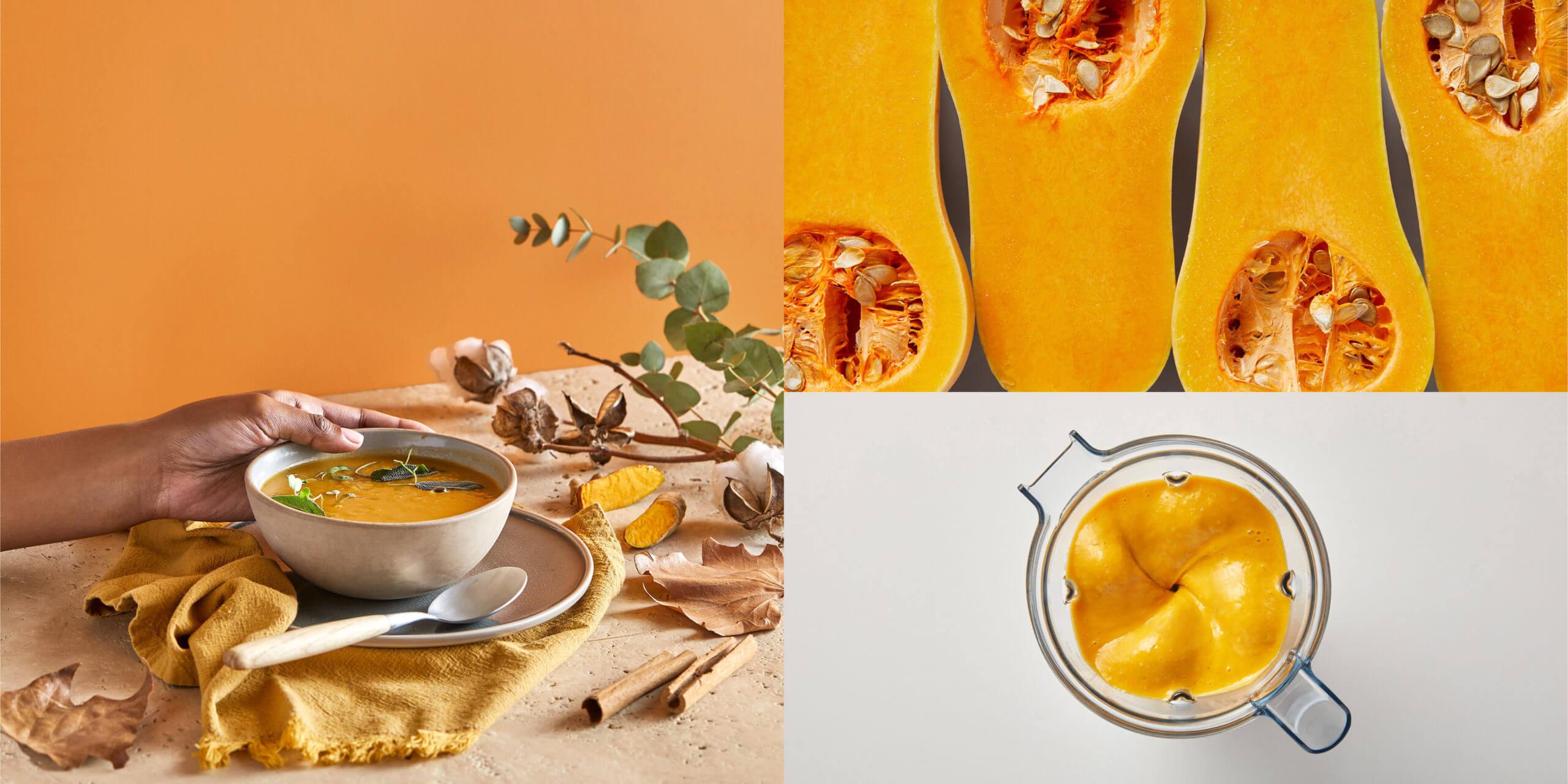 Curry-kookos-kurpitsakeitto