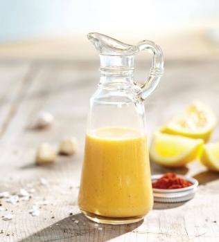 Sitruuna-valkosipulikastike