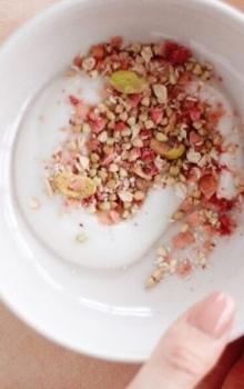Malinin itse tehty granola