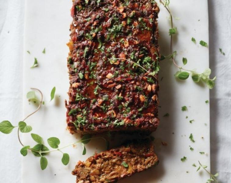 Vegetarisk köttfärslimpa