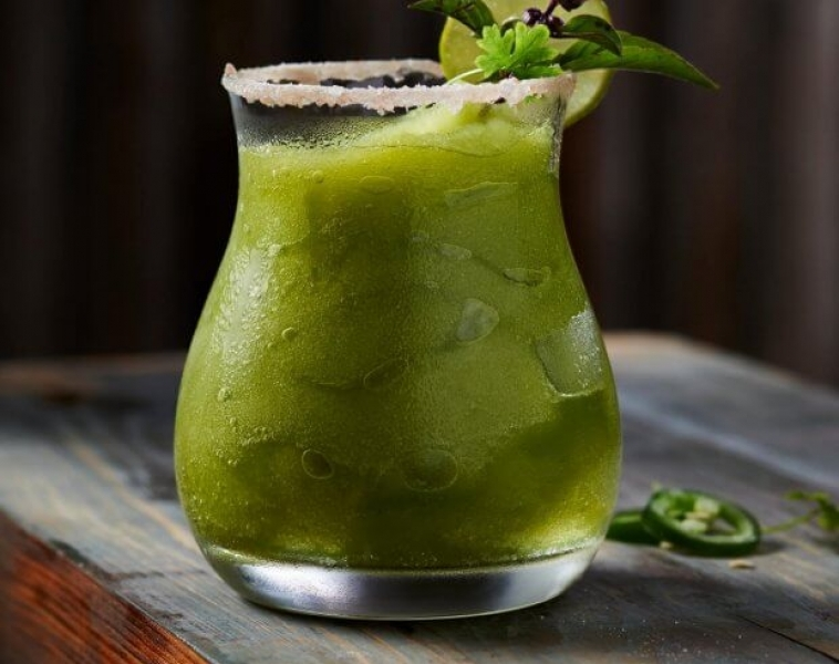 Jalapeño Tequila Cocktail