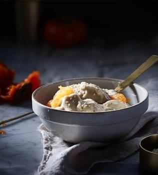 Nice Cream -jäätelöä seesaminsiemenillä