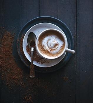 Kahvipapujen jauhaminen Vitamixilla